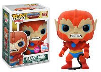 Flocked Beast Man Masters Of The Universe POP! Television #539 Vinyl Figur Funko