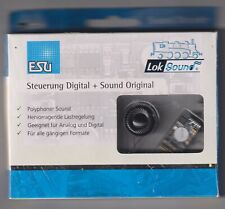 ESU 66497 décodeur Steuerung Digital + Sound Original Machine à vapeur réf 212