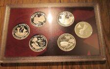 2009 U.S. Mint Silver Quarter Proof Set  No Box No COA Plastic Sleeve 6 Quarters