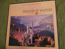 33RPM Vintage Vinyl TREASURY OF WALTZES Triple Album 402