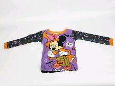 Disney Halloween 3T Shirt Long Sleeve Minnie Witch Top Toddler Costume