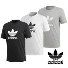 Adidas Originali Uomo Trifoglio T-Shirt Abbigliamento Relax SPORTS
