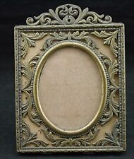 Vintage Gold Brass Easel Picture Photo Frame