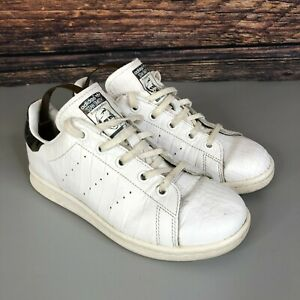 ADIDAS Stan Smith SUPERSTAR Girls Camouflage White Shoes Trainers Size UK 2