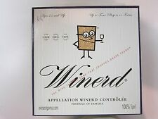 Winerd Wine Nerd Trivia Blind Taste Tasting Adult Board Game Drinking Enthusiast