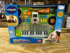 VTech KidiJamz Keyboard Green Recording Studio DJ Brand New
