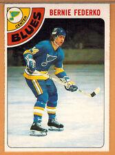 1978-79 , OPC , O-PEE-CHEE , BERNIE FEDERKO , CARD #143 , ROOKIE