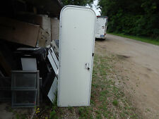 "Trailer Door, 22"" X 70"".  Frame/Screen. Left Swing As Pictured, Driver Side New"