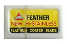 Feather Double Edge Blades- 50 Blades