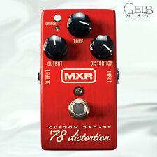 "MXR Custom Badass ""78 Distortion Pedal - M78"