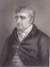 """Charles James Fox"" engraving after Richter by Freeman for Fisher & Son 1835"