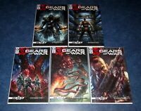 GEARS of WAR HIVEBUSTERS 1 2 3 4 5 1st print set IDW COMIC BOOK 2019 2020 XBOX