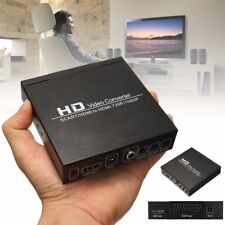 1Pc SCART/HDMI To HDMI 720P 1080P HD Video Adapter Converter For DVD STB EU Plug
