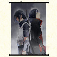 Anime Naruto Uchiha Itachi Painting Home Decor Poster Wall Scroll 40x60cm