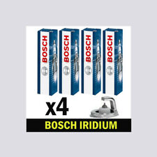 4x Bosch Iridium Spark Plugs for VW TOURAN 1.4 CHOICE2/2 BLG BMY CAVB CAVC 1T