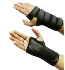 Medium Right Black Adjustable Wrist Hand Splint Carpal Tunnel Support NHS Use M
