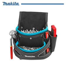 Makita Electrician Construction 2-Pocket Fixings Pouch Tool Bag for Screw & Nail