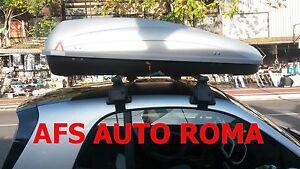 BARRE PORTATUTTO SMART FORTWO 2013+BOX AUTO PORTATUTTO G3 KRONO 400 OMOLOGATI