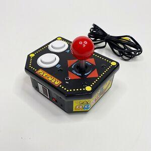 Pac-Man Retro 12-in-1 Plug N Play Arcade TV Games Jakks Pacific 2009 TESTED Work