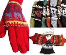 20 Alpaca Wool Socks & Gloves & Chullo Hat - Inkasecrets