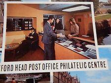 OXFORD POST OFFICE PHILATELIC CENTRE VINTAGE POSTCARD AUTHENTIC