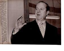Washington: Chairman Russel B. Long D-La. of the Senate Finance Com. News Photo