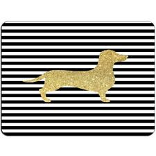 Mousepad Dachshund Mouse Pad Gold  Glamour J00039