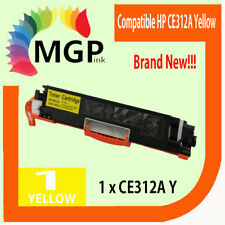 1x Yellow Toner Cartridge CE312A for HP LaserJet 200 color MFP M275nw Printer