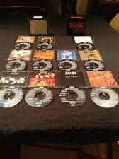 AC/DC BOX SETS CD X 11  VOLUME 1 & 2 BLACK ALBERT 465922 2  AUSTRALIA  465921 2