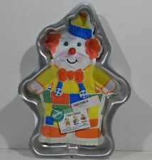 1993 Wilton Cute Clown cake pan 2105-6711