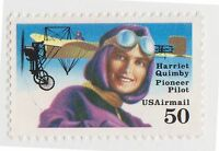 (UST-488) 1991 USA 50c H. QUIMBY Air Mail (B)