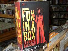 "Pam Grier ""Fox In A Box"" 4 DVD set Sheba Baby, Foxy Brown, Coffy, Bonus Disc NEW"