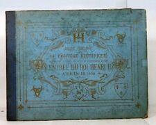ADELINE Cortège historique Henry II à Rouen tirage limité sur chine 1880 LA XIX