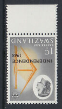 SWAZILAND 1968 1c WITH INVERTED WATERMARK SG 143w MNH.