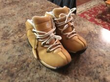 Timberland Youth Boots Size 13.5 New w/o Box Tan/White/Black Nice Free Shipping
