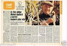 Coupure de presse Clipping 1983 (2 pages) Michel Audiard
