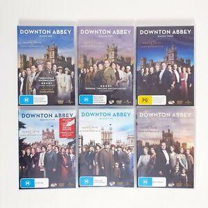 Downton Abbey Complete TV Series Seasons 1 to 6 DVD Region 4 AUS