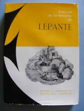 François Garnier Bataille de Lepante Ed. de Paris 1956 Marine Bataille Navale