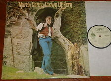 MARTIN CARTHY ~ CROWN OF HORN ~ HAND SIGNED AUTOGRAPHED UK TOPIC LP ~ 1A/2A