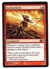 MTG 2014 Rare Burning Earth