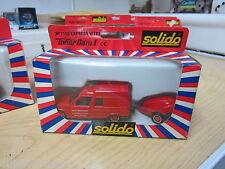 Solido pompiers 1/43 Tonergam I 2130 express vitre