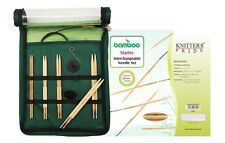 Knitter's Pride Bamboo Interchangeable Circular Knitting Needles Starter Set