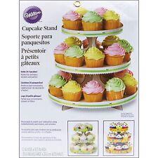 Portamuffin Alzatina 3 piani in cartone bianco cupcakes wilton SPEDIZIONI VELOCI