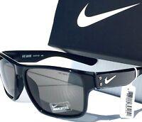 NEW* NIKE MAVRK in BLACK frame w Grey IRIDIUM Lens Sunglass EV0773 021
