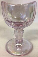 Eye Bath Wash Cup Rinse - Heatherbloom Carnival (Light Lavender) Glass - USA