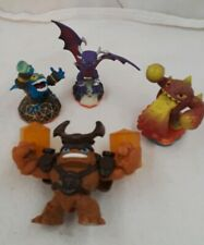 Mixed Lot of 4 SKYLANDERS~Activision