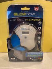 The Original GlowBowl Motion Activated Toilet Nightlight Safety Light ASOTV New