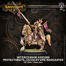 Warmachine: Protectorate of Menoth Intercessor Kreoss Cavalry PIP 32089 NEW