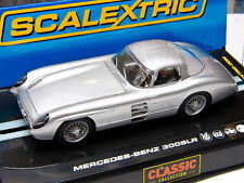 SCALEXTRIC C2914 MERCEDES BENZ 300 SLR COUPE WITH LIGHTS 1/32 SLOT CAR Brand New