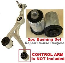 2pc Front Lower HYDRO Bushings fit 2004 05 06 -2009  Mercedes Benz Aluminum Arms